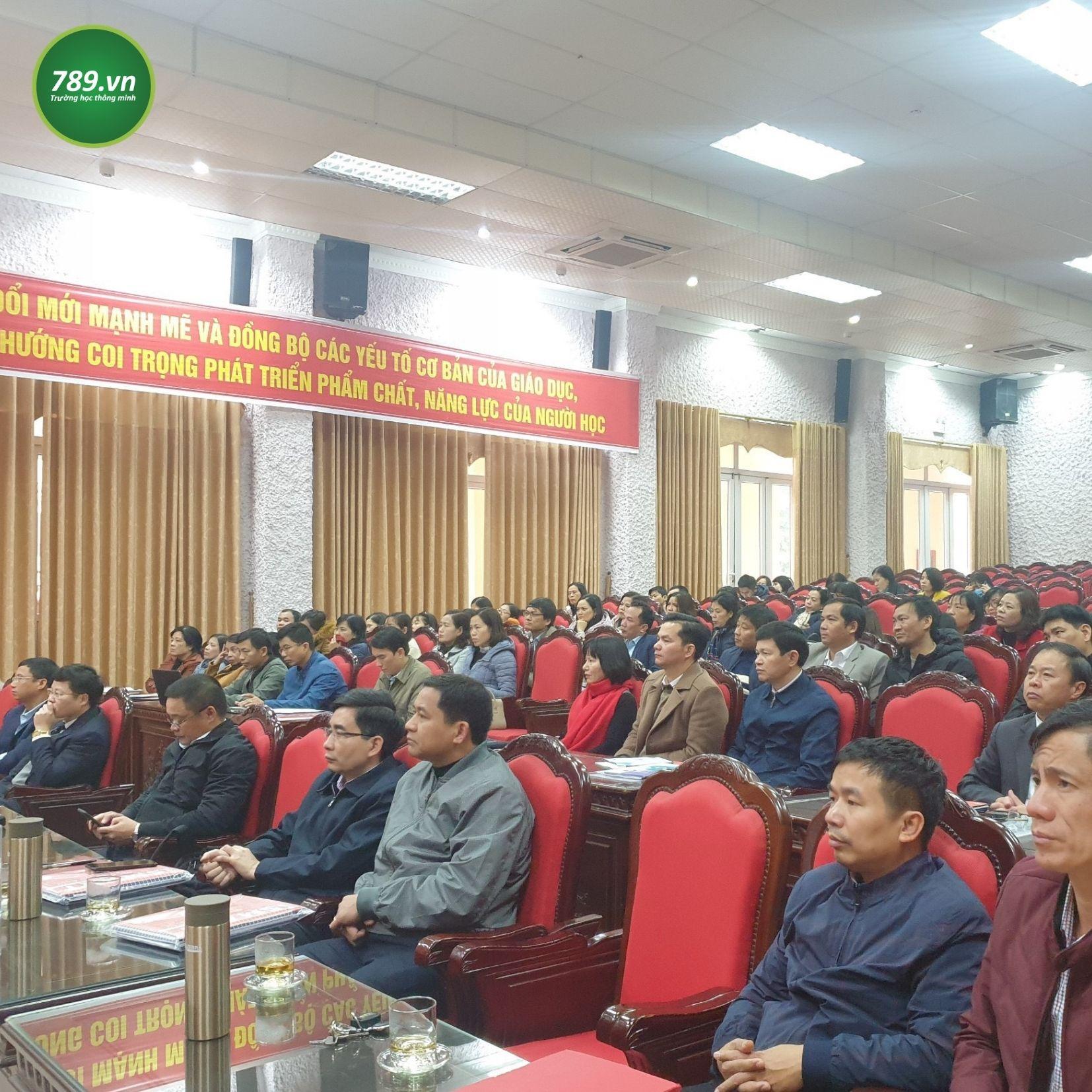 789.vn mang hệ thống kiểm tra đánh giá trực tuyến đến với Nam Định (Sở Giáo dục và Đào tạo Nam Định)