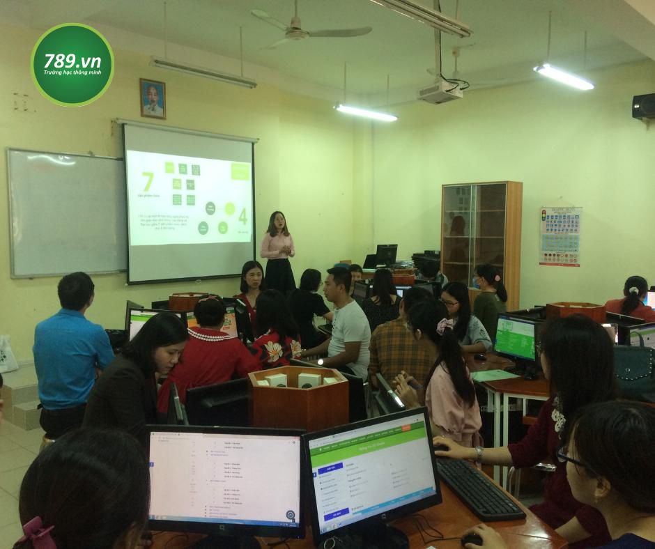Trường THPT Trần Văn Giàu - TP.HCM triển khai kế hoạch áp dụng công nghệ vào giảng dạy