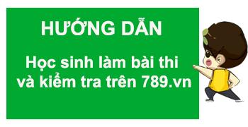 """Thi thử trên 789.vn - """"bước đệm"""" cho kỳ thi thành công"""